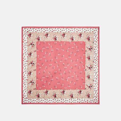 Mascada-de-seda-35x35-Floral-Bow