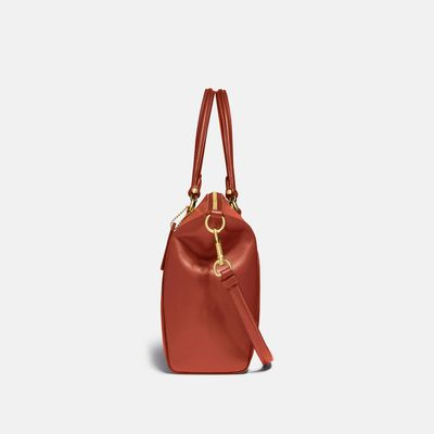 Bolsa-Satchel-Prairie-de-Coated-Canvas