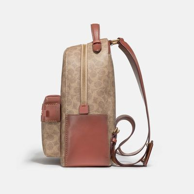 Mochila-Campus-de-Coated-Canvas-Signature