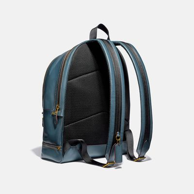 Mochila-Academy-con-estampado-Leather-Denim