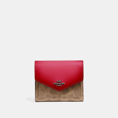 Cartera-pequeña-en-Coated-Canvas-Colorblock---Coach