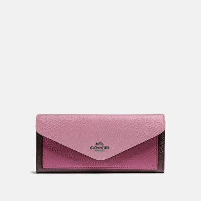 Cartera-suave-Colorblock---Coach