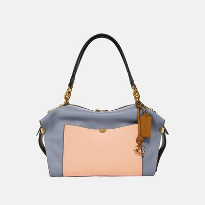 Bolsa-Satchel-Darla-Colorblock---Coach