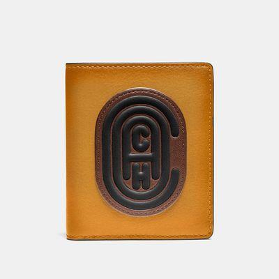 Cartera-delgada-en-cuero-Colorblock---Coach