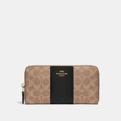 Cartera-grande-con-cierre-en-Coated-Canvas---Coach