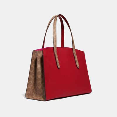 Bolsa-de-mano-Charlie-en-Coated-Canvas-Colorblocking---Coach