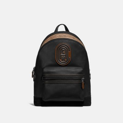 Mochila-Academy-Backpack-con-Coach-Patch-Coach