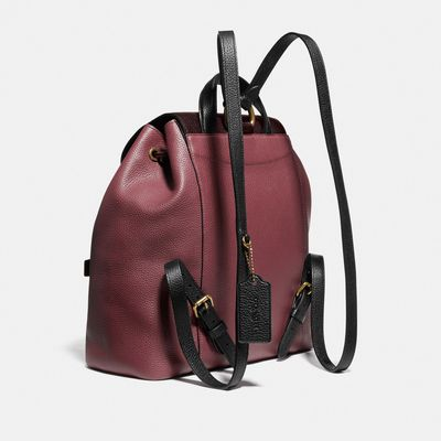 Mochila-Evie-Colorblock-Coach