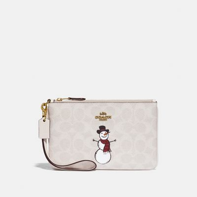 Muñequera-Snowman-de-Coated-Canvas-Coach
