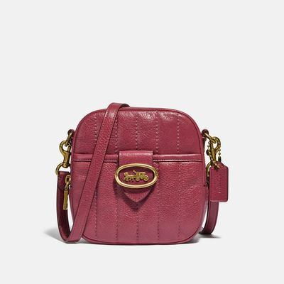 Bolsa-cruzada-Trim-Kat-camera-bag-de-cuero-Coach