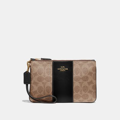 Muñequera-Signature-de-Coated-Canvas-Coach