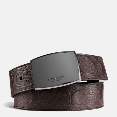 Cinturon-Reversible-con-Hebilla-de-placa-y-Signature-Coach
