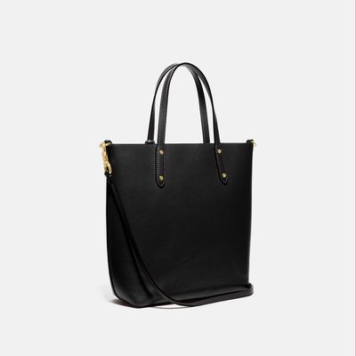Bolsa-Tote-Tall-Central-Tote-de-cuero-Coach