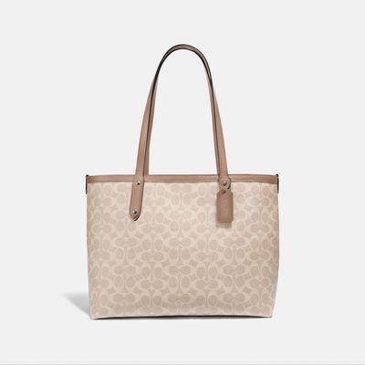Bolsa-Central-Tote-con-cierre-de-Coated-Canvas-Coach