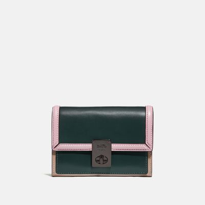 Cartera-pequeña-Hutton-Colorblock-Coach