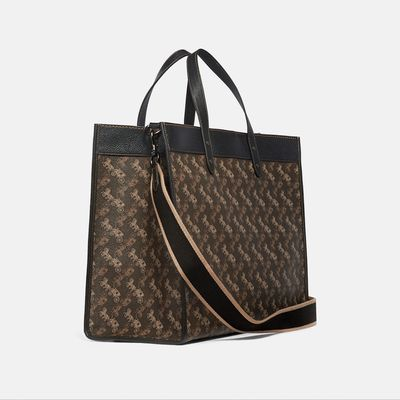 Bolsa-Tote-40-Horse-and-Carriage-en-Coated-Canvas-y-estampado-Coach