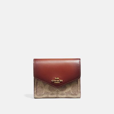 Cartera-Pequelña-Signature-en-Coated-Canvas-Colorblock-Coach
