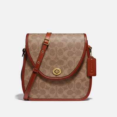 Bolsa-Cruzada-C-Org-Signatture-Flap-The-Coach-Originals-Coach