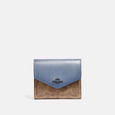 Cartera-pequeña-Small-Wallet-en-Coated-Canvas-Coach