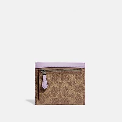 Cartera-pequeña-Small-Wallet-en-Coated-Canvas-Coach