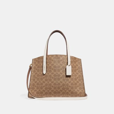 Bolsa-de-Mano-Charlie-Carryall-en-Coated-Canvas-Coach