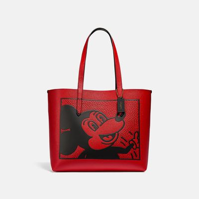 Bolsa-Tote-Highline-Disney-Mickey-Mouse-X-Keith-Haring-Coach