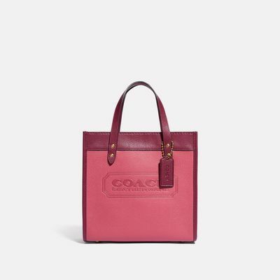 Bolsa-Tote-Field-22-Badge-Coach-Colorblock-Coach
