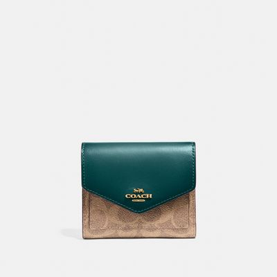 Cartera-Pequeña-Colorblock-Signature-Coach