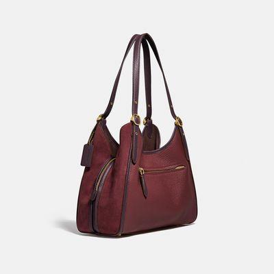 Bolsa-de-Hombro-Lori-Leather-Suede-Coach